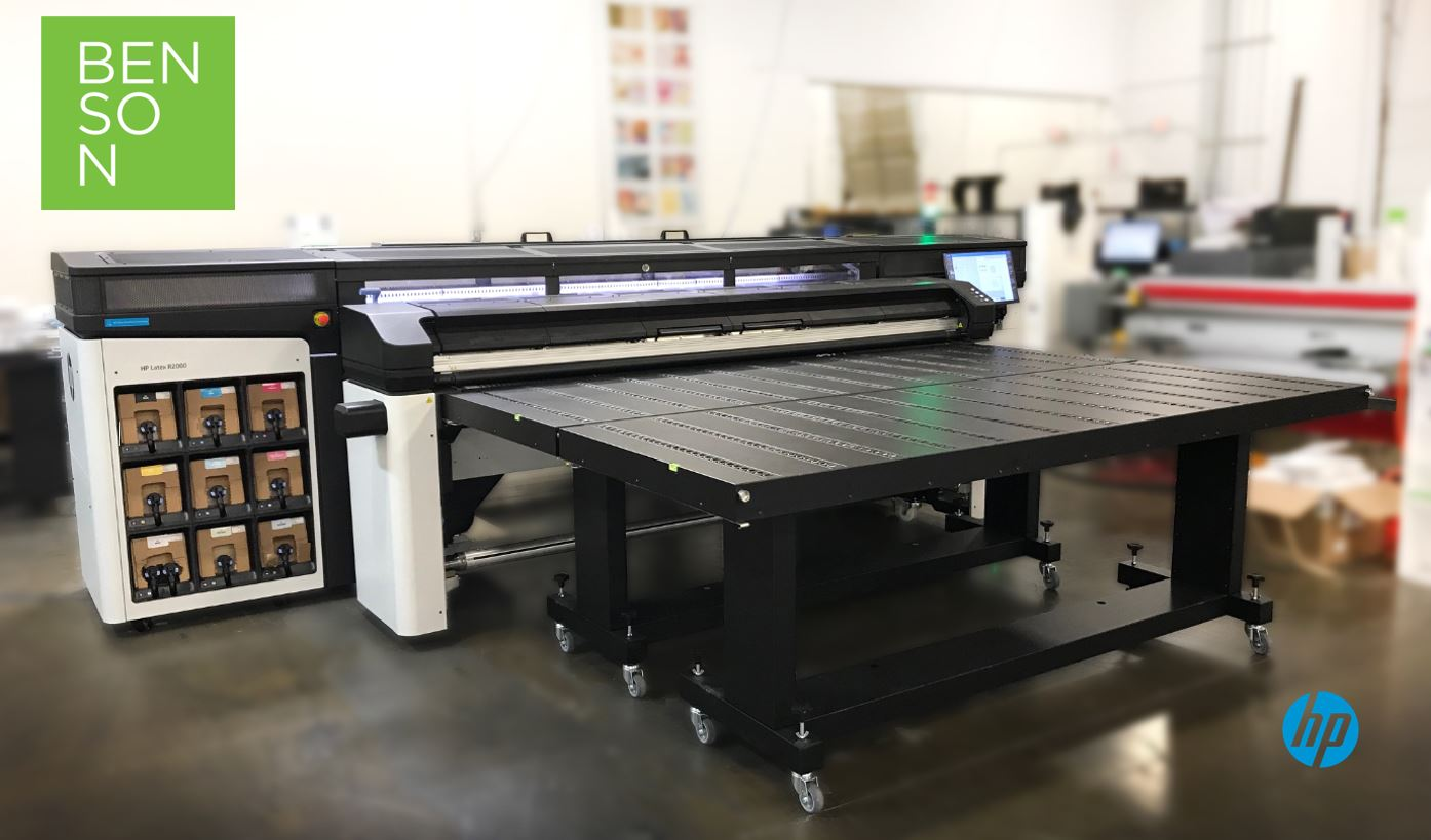 Benson Among First in United States to Expand Capabilities with New HP Technology